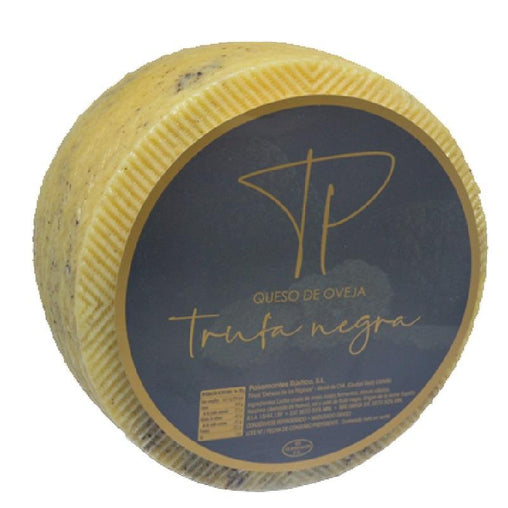 Manchego cheese with truffle Pasamontes