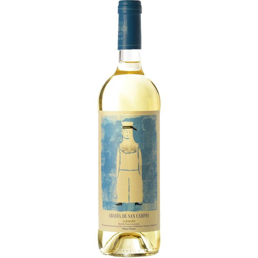 White wine Abbey of San Campio Maritime Edition 2018 by Terras Gauda