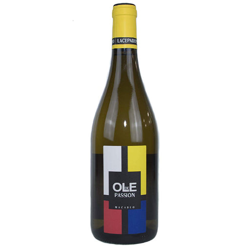Ole de Passion 2017 white wine from La Cepa de Pelayo