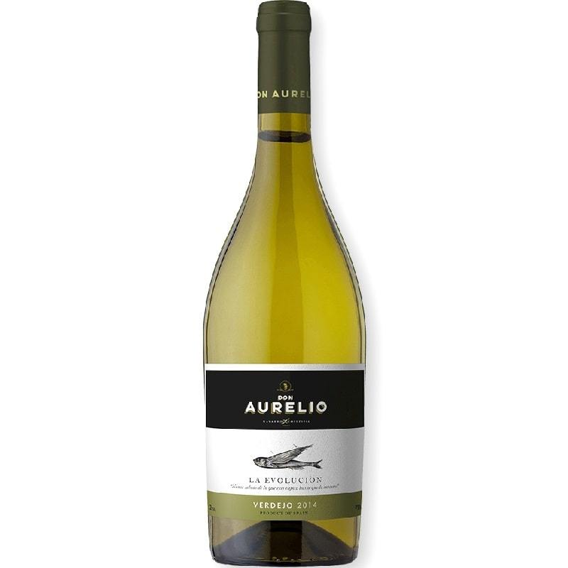 Don Aurelio white wine Verdejo The Evolution of Navarro López