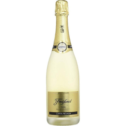 Cava Nevada semi-dry letter of Freixenet