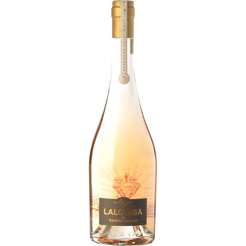 Lalomba Rosé 2018 rose wine from Ramón Bilbao