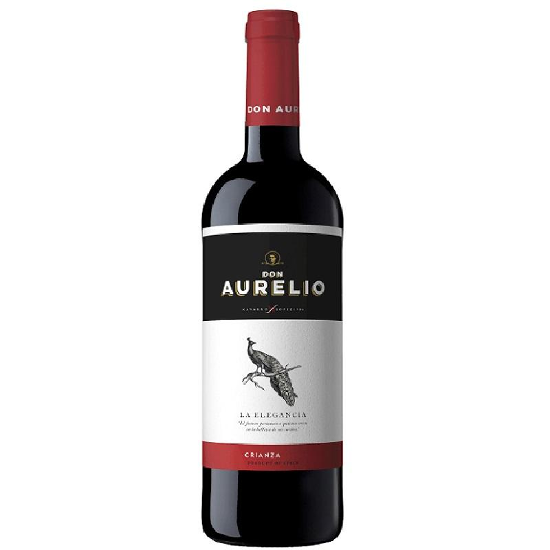 Don Aurelio red wine Crianza The 2015 Elegance of Navarro López