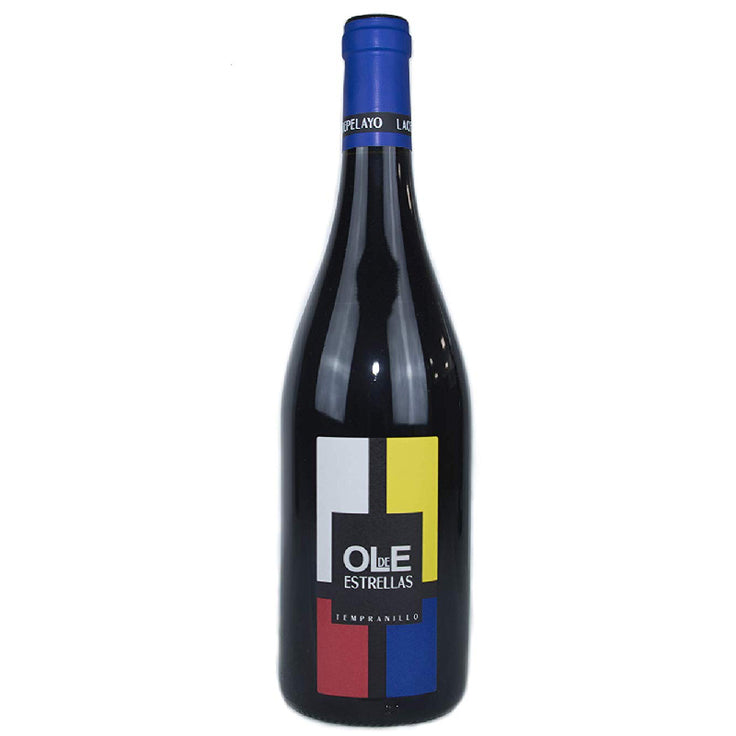 Red wine Ole de Estrellas 2017 from La Cepa de Don Pelayo