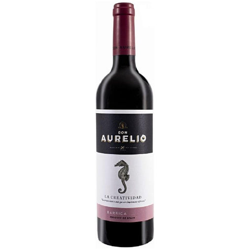 Red wine Don Aurelio Barrica La Creatividad de Navarro López