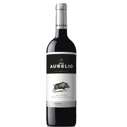 Don Aurelio red wine Reserva The Courage of Navarro López