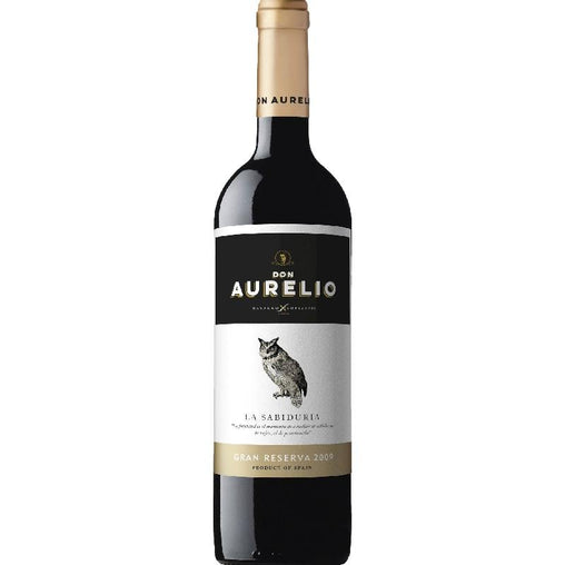 Don Aurelio red wine Gran Reserva The Wisdom of Navarro López