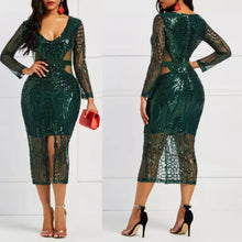 Load image into Gallery viewer, Debby Fashion Sexy Sheath Lace Bodycon Dress