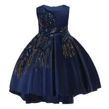 Load image into Gallery viewer, Girls Wedding Party Dresses Kids Princess Christening Children Clothing