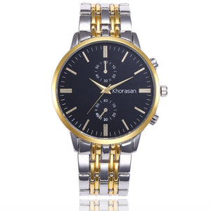 Benny Mens Wrist Watches Top Brand Luxury Stainless Steel Quartz