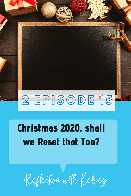 Christmas in 2020, shall we Reset that Too?