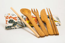 Load image into Gallery viewer, Desert Flare Bamboo Utensils