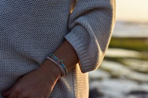 Adjustable Shimmy Bracelets: The Golden Palm