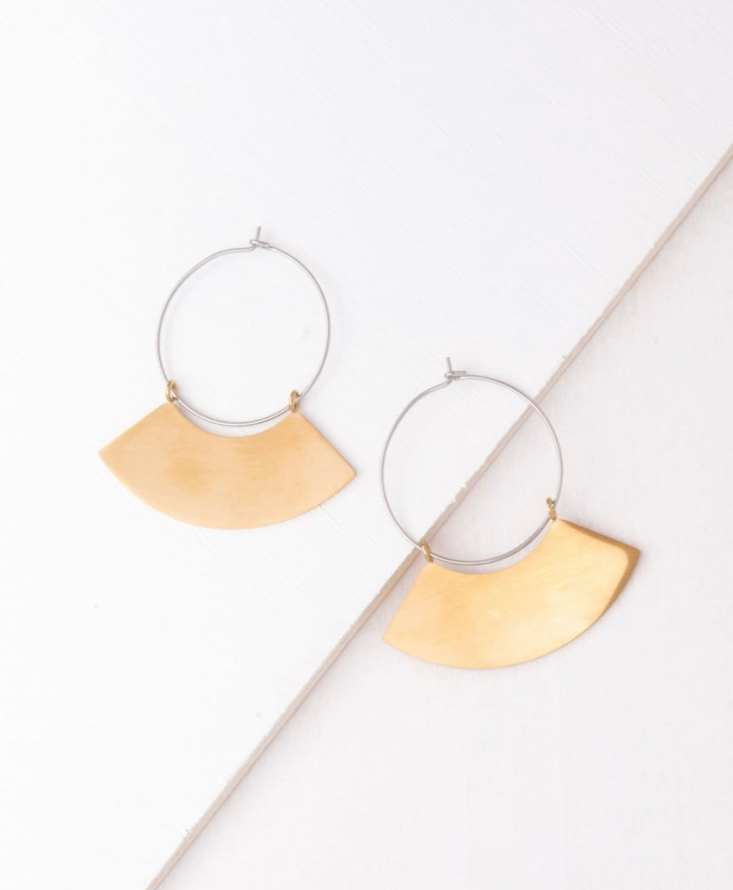 Harper Gold and Silver Earrings