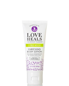 8 oz Love Heals Citrus Wood Body Lotion