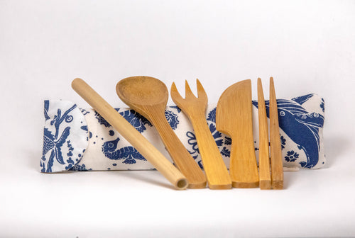 Yasminida Bamboo Utensils