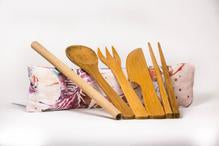 Hula Bamboo Utensils