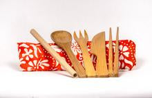 Load image into Gallery viewer, Mauna Kea Bamboo Utensils