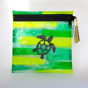 Up-cycled Plastic Zipper Pouch