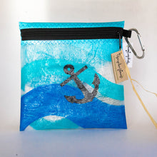 Load image into Gallery viewer, Up-cycled Plastic Zipper Pouch