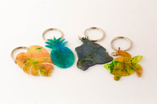 Up-cycled Plastic Keychain