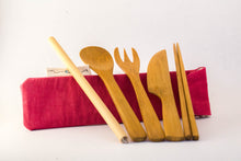 Load image into Gallery viewer, Puako Bamboo Utensils