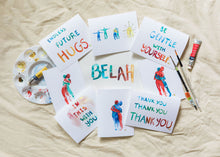 "Load image into Gallery viewer, Belah  ""Hugs"" Handmade Cards"