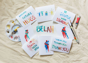 "Belah  ""Connection"" Handmade Cards"