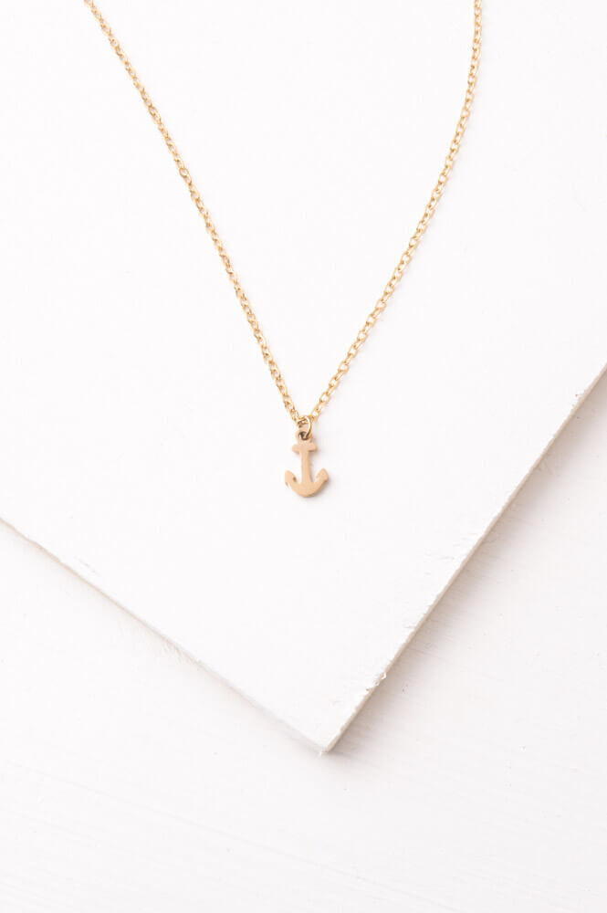 I'm Anchored Necklace