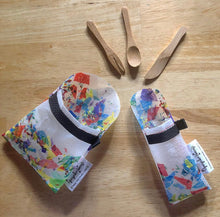 "Load image into Gallery viewer, Fused Plastic ""Bring-Your-Own"" Slide Pouch and Cutlery Sets"