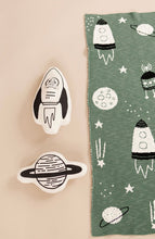 Load image into Gallery viewer, Rocketship Pillow