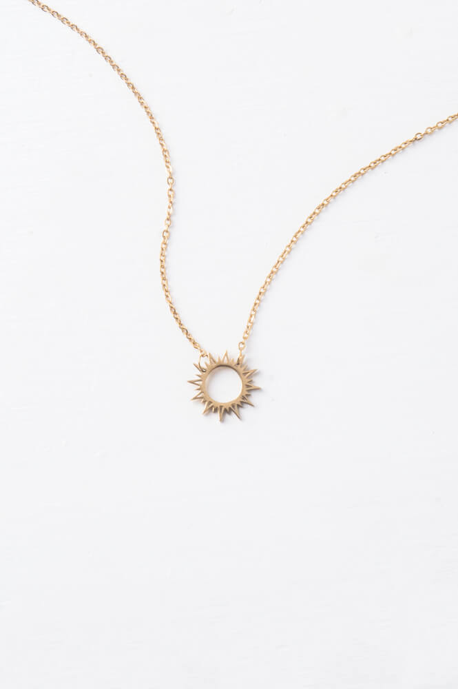 The Mallory Sun Necklace: Be a light in this world