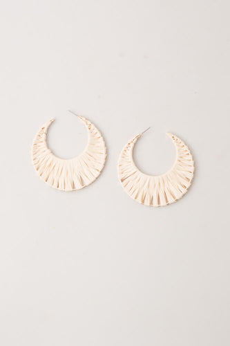 Jo Anna Woven Hoop Earrings