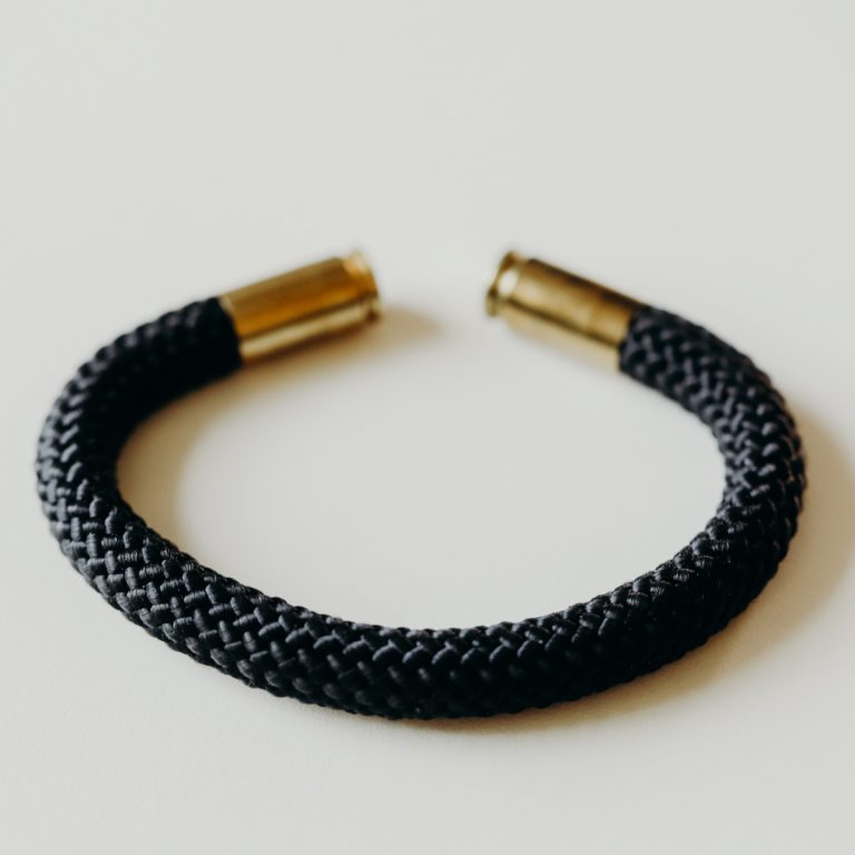 Black Bridge Bullet Bracelet