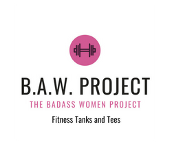 The Badass Women Project, fitness tanks, fitness tees, women workout clothes