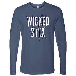 Men's Long Sleeve Wicked Stix Shirt - The Badass Women Project