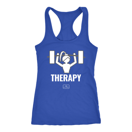 Therapy Fitness Tank - The Badass Women Project
