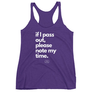 If I Pass Out - The Badass Women Project