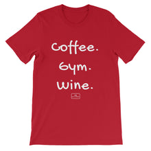 Load image into Gallery viewer, Coffee. Gym. Wine. - The Badass Women Project