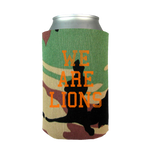 We Are Lions Camo Koozie