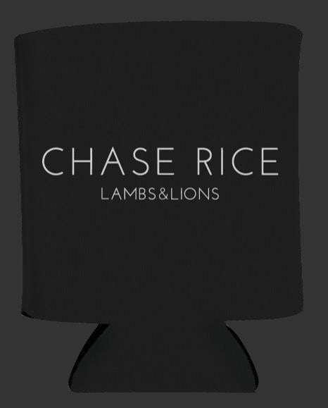 Chase Rice Lambs & Lions Koozie