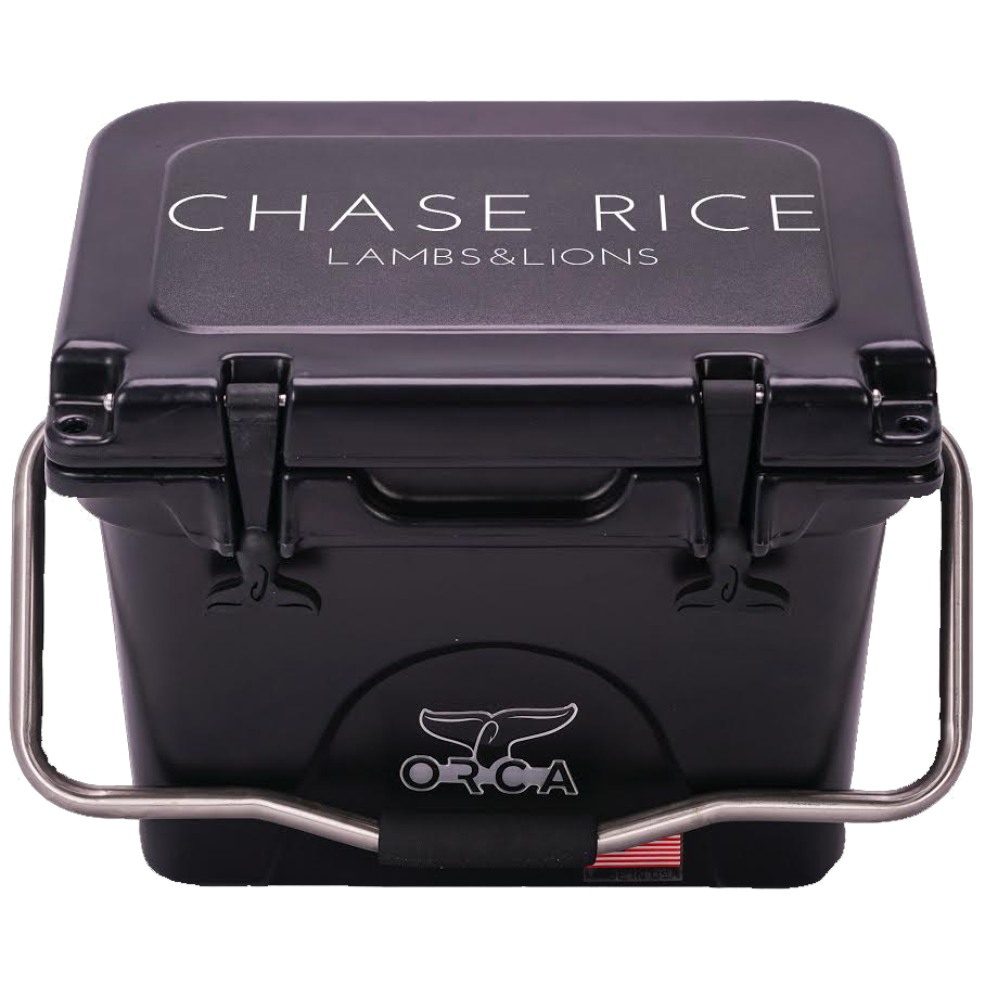 Chase Rice Lambs & Lions Cooler - 20qt