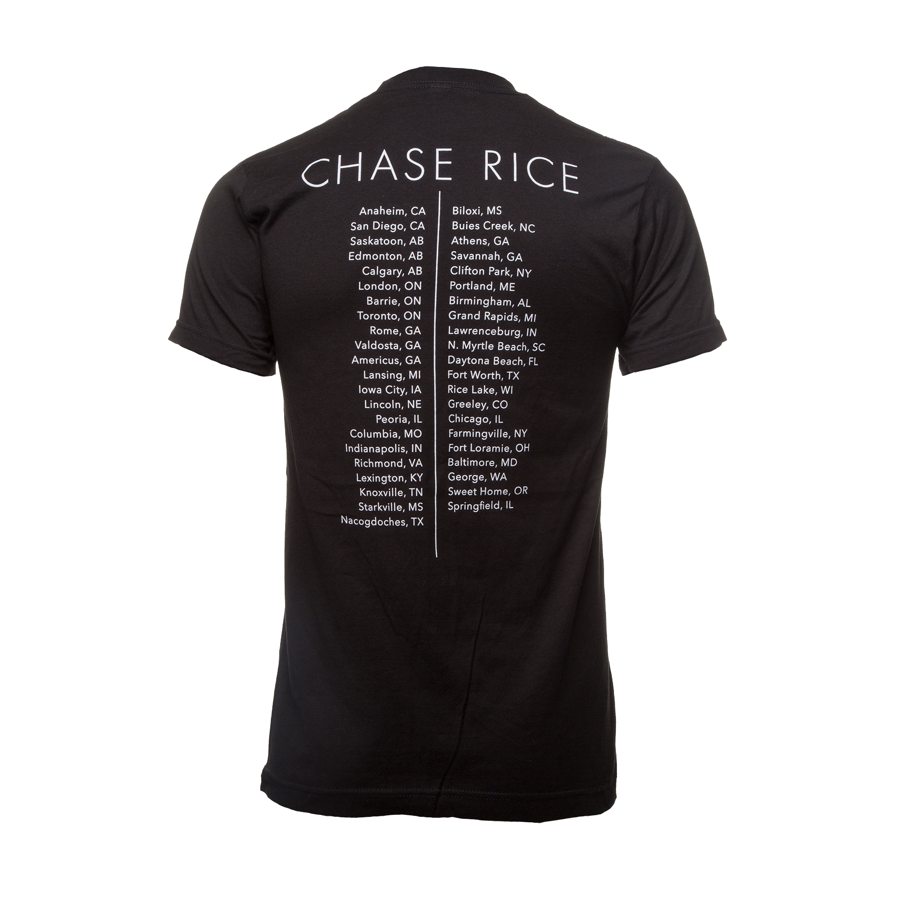 Chase Rice 2017 Tour Tee