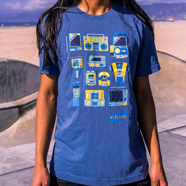 Hyperion Devices T-Shirt - Blue by GEARBOX LOOT