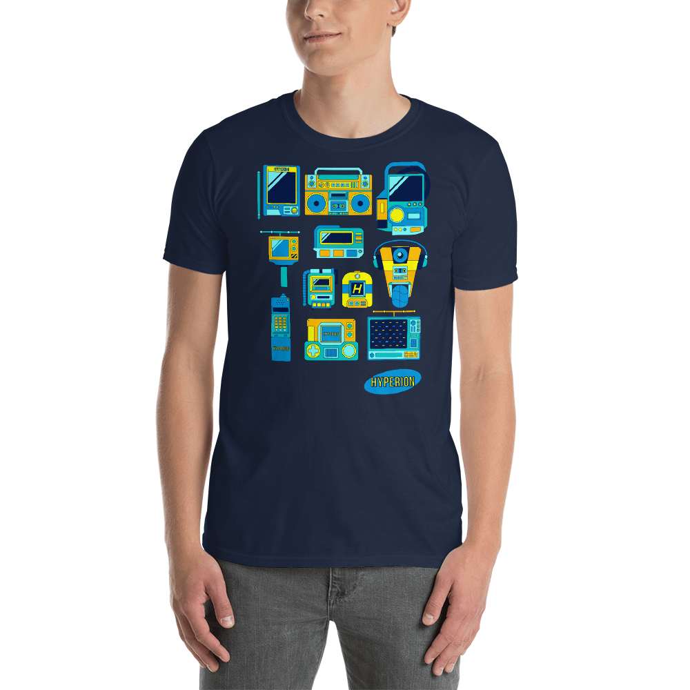Hyperion Devices T-Shirt - Navy by GEARBOX LOOT