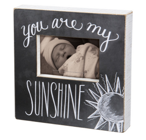 You Are My Sunshine Box Frame