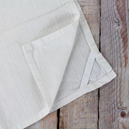 Rustic Chicken Flour Sack Tea Towel
