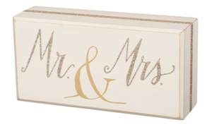 Mr. & Mrs. Box Sign
