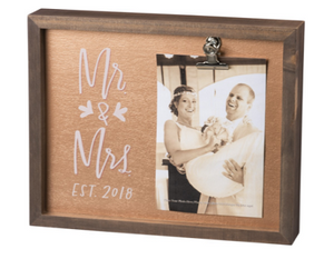 Mr. & Mrs. Inset Box Frame