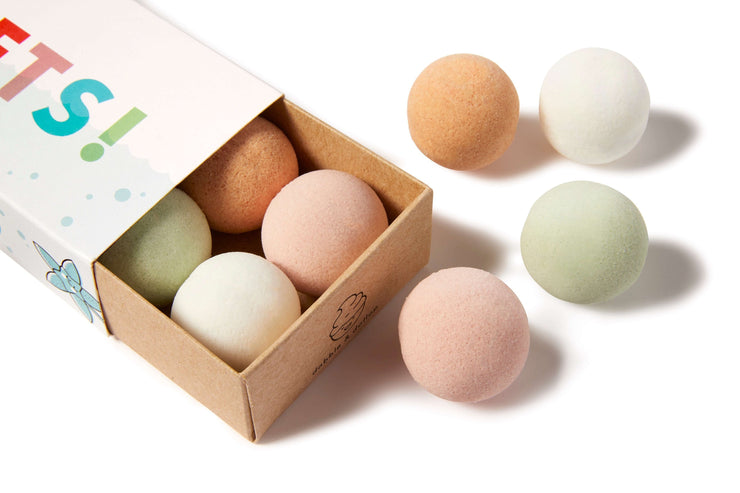 Bath Bombs Twin Pack - 100% Natural, Vegan, Gluten-Free
